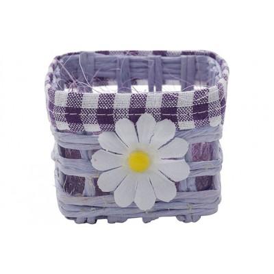 Mand Daisy Lavendel 7x7xh6cm