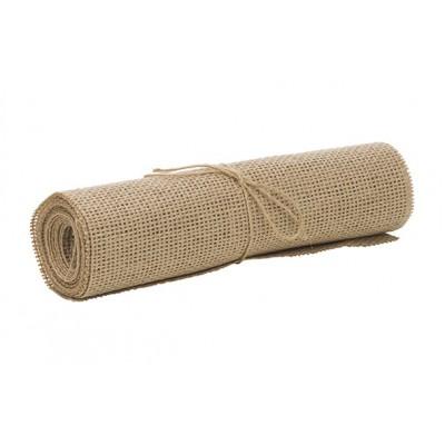 Tafelloper Linenette Natuur 22x200cm Textiel
