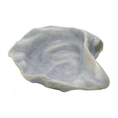 Schaaltje Shell Blauw 10,7x8,8xh3,7cm Keramiek  Cosy @ Home