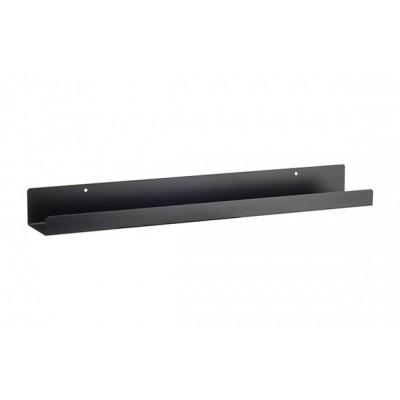 Legplank Zwart 60x9xh6cm Rechthoek Metaal  Cosy @ Home