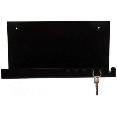 Legplank Modern Zwart 35x15xh17,5cm Metaal  Cosy @ Home