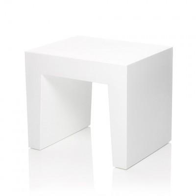 Concrete Seat White  Fatboy