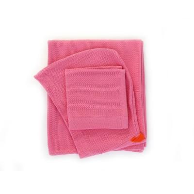 Home Baby Hooded Towel Set flamingo  Ekobo