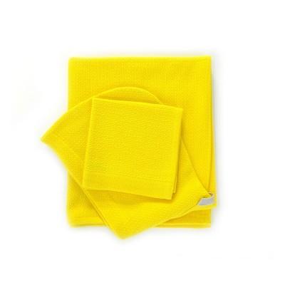 Home Baby Hooded Towel  Set lemon  Ekobo