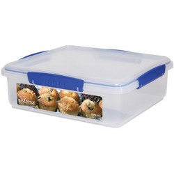 Klip It rechthoekige voorraaddoos Bakery Box 3.5L