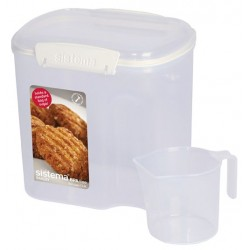 Bake It voorraaddoos met maatbeker 2.4L   Sistema