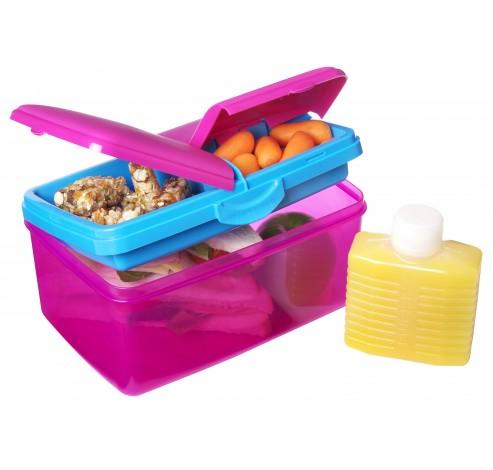 Trends Lunch lunchbox met drinkfles Quaddie 2L   Sistema