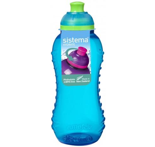 Hydrate drinkfles Twist n Sip 330ml   Sistema