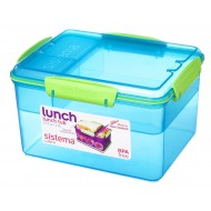 Sistema Trends Lunch lunchbox met 4 compartimenten Lunch Tub 2.3L (4 ass.)
