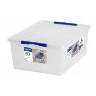 Storage opbergdoos met deksel 60L