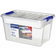 Storage opbergdoos met deksel & organiseerlade 3.5L