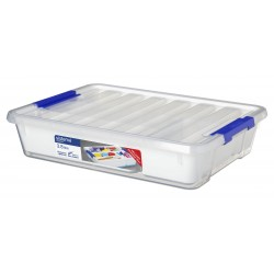 Storage opbergdoos met deksel & organiseerlade 3.8L