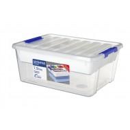 Storage opbergdoos met deksel & organiseerlade 7.9L