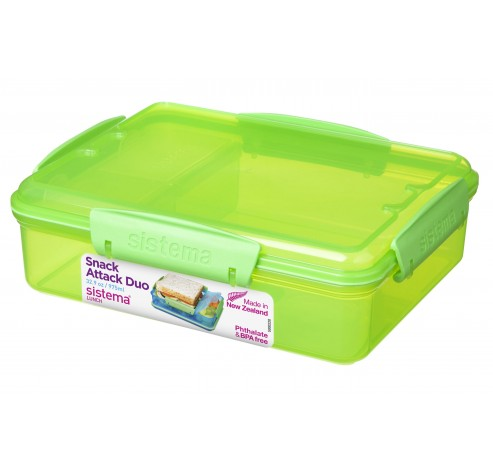 Vibe Lunch lunchbox Snack Attack duo 975ml   Sistema