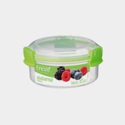 Fresh ronde voorraaddoos groen 300ml
