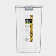 Tritan Ultra vierkante voorraaddoos zwart 1.3L