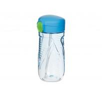 Hydrate drinkfles met rietje Tritan Quick Flip blauw 520ml