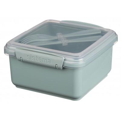 Sistema Renew lunchbox met bestek Lunch Plus 1.2L (4 ass.)