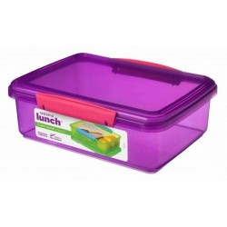Trends Lunch lunchbox paars 2L   Sistema