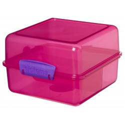 Trends Lunch lunchbox Cube roze 1.4L   Sistema