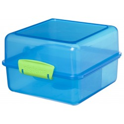 Trends Lunch lunchbox Cube blauw 1.4L   Sistema