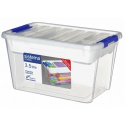Storage Opbergdoos Met Deksel & Organiseerlade, 3,5L  Sistema