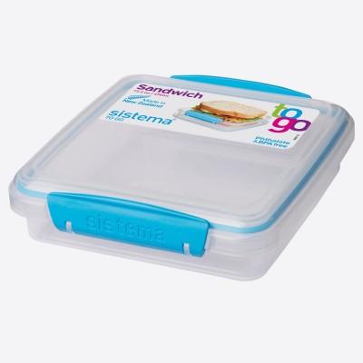 To Go lunchbox Minty Teal 450ml   Sistema