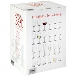 Libera 24-delige Set Wijn- en Champagneglazen