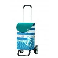 Alu Star Shopper Meer blauw