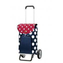 Alu Star Shopper Dots blauw