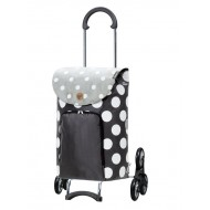 Treppensteiger Scala Shopper Dots grijs