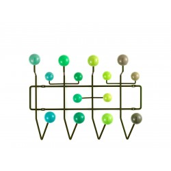 Eames Hang it all green Multitone  Vitra.