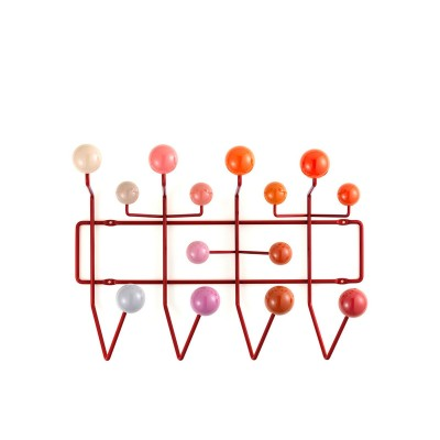 Eames Hang it all red Multitone  Vitra.