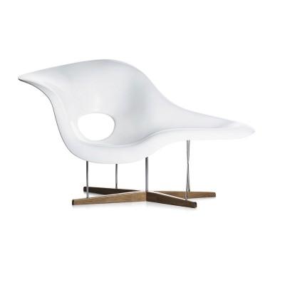 CHA Eames Chaise Polyurethane white  Vitra.