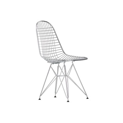WIR DKR Wire Chair without cover - chrome  Vitra.