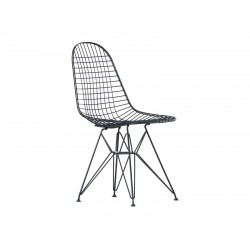 WIR DKR Wire Chair without cover - dark  Vitra.