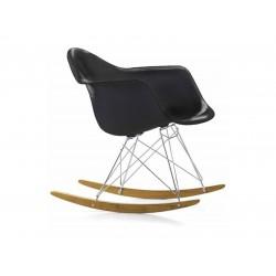EAS RAR Eames Plastic Armchair - black  Vitra.