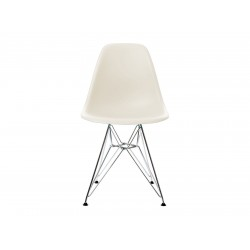 EPC DSR P.Side Chair - base chrome-plated - cream  Vitra.