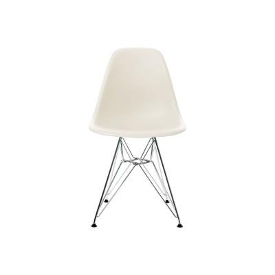 EPC DSR P.Side Chair - base chrome-plated - cream  Vitra.
