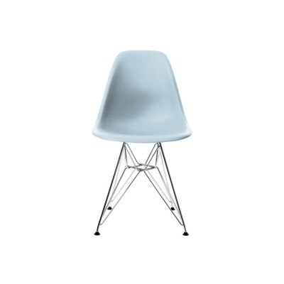 EPC DSR P.Side Chair - base chrome-plated - ice grey  Vitra.