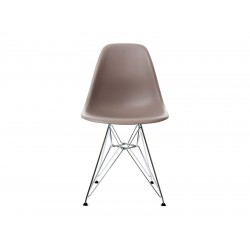 EPC DSR P.Side Chair - base chrome-plated - mauve grey  Vitra.