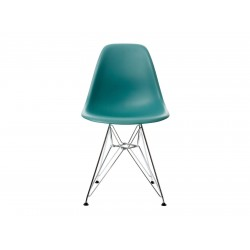 EPC DSR P.Side Chair - base chrome-plated - ocean  Vitra.