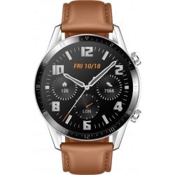 Watch GT 2 (46mm) Zilver - Bruin Huawei