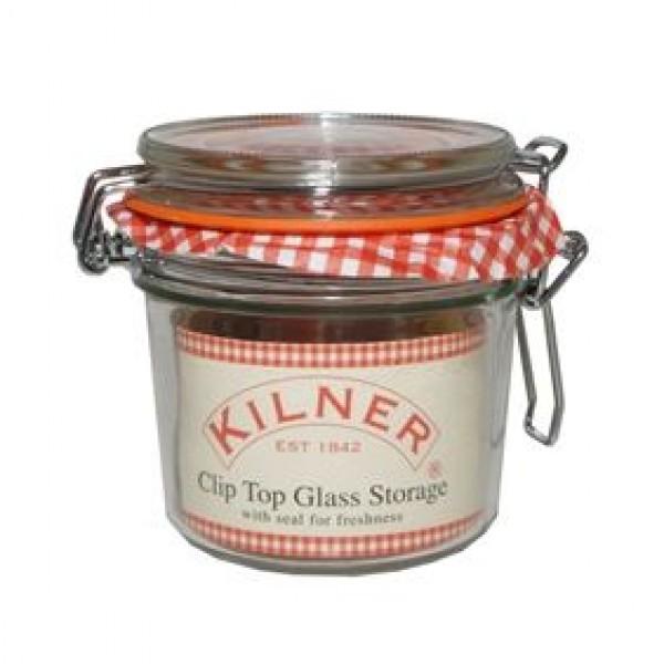 Kilner ronde glazen bokaal met beugelsluiting 350ml