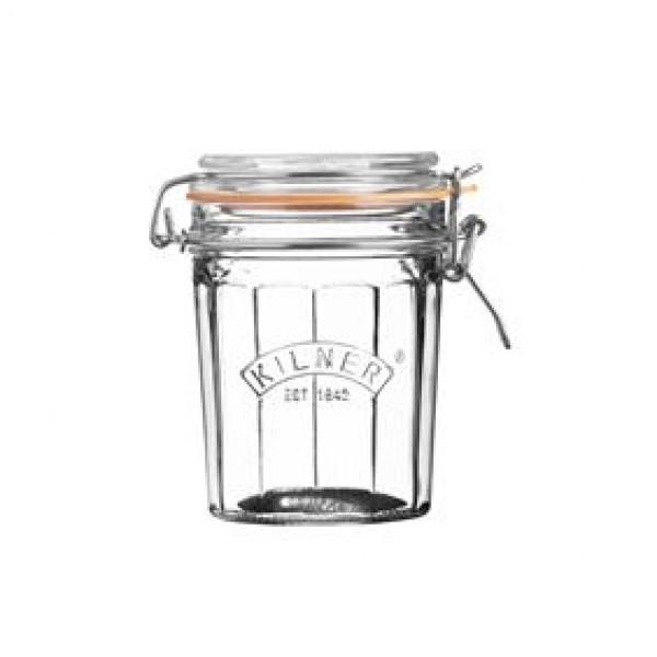 Kilner Inmaakglazen en -bokalen Gefaceteerde glazen bokaal met beugelsluiting 450ml