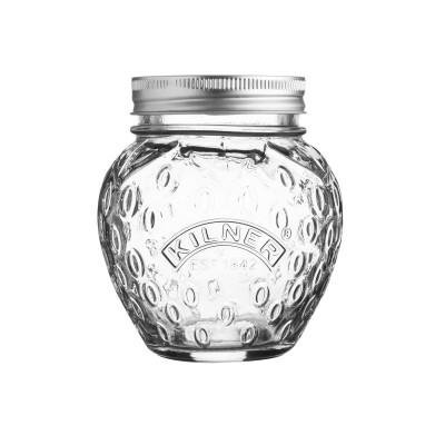 Glazen inmaakbokaal aardbei 400ml  Kilner