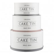 Innovative Kitchen set van 3 voorraadblikken Cake Tin