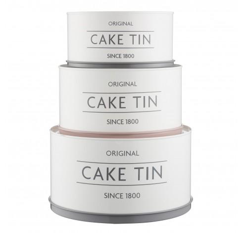 Innovative Kitchen set van 3 voorraadblikken Cake Tin  Mason Cash