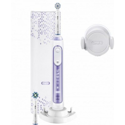 Genius 10100S purple (EB60) + 2 pin Oral-B