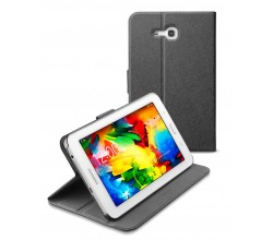 Samsung Galaxy Tab 3 7.0 Lite tasje slim stand zwart Cellularline